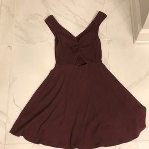 Red Abercrombie and Fitch dress
